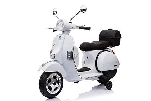 Vespa Moto electrica para niños hasta 7 años  Bateria 12v 1