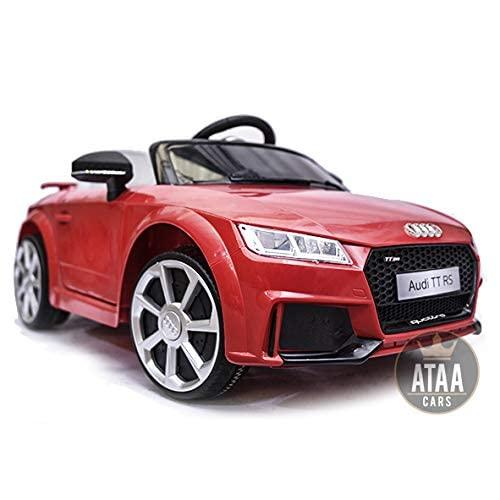 Audi TT RS 12v Licenciado con mando - Rojo 1