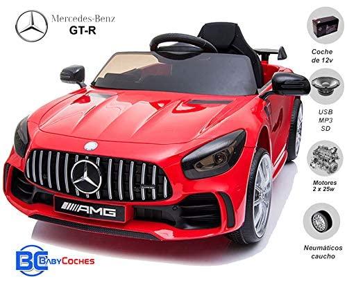Coche electrico para niños Mercedes GT-R 1