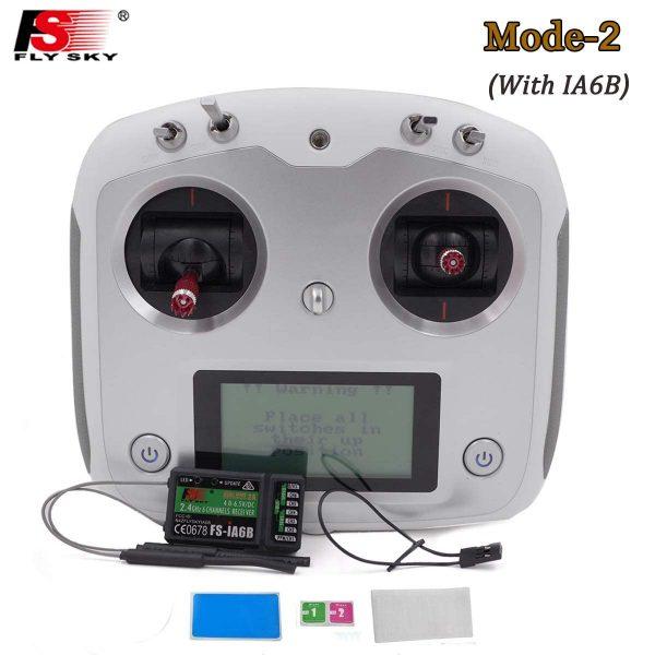 Transmisor de mando flysky FS I6S 1