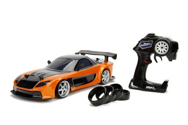 Coche drift rc Fast & Furious Mazda RX-7 1