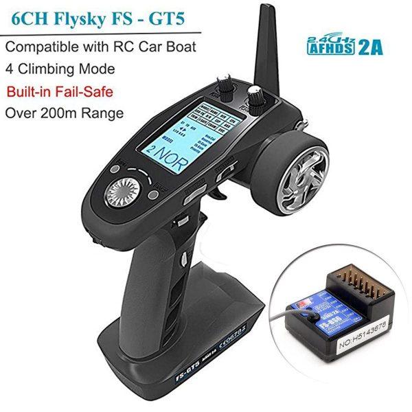 Transmisor Flysky FS-GT5 RC 1