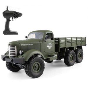 camion militar teledirigido