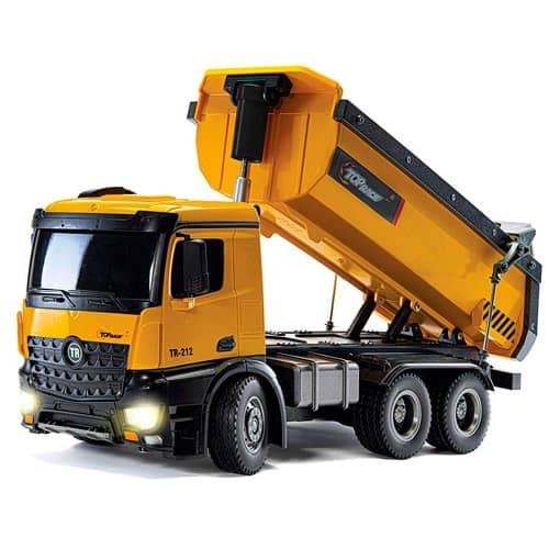 camion volquete contruccion radiocontrol