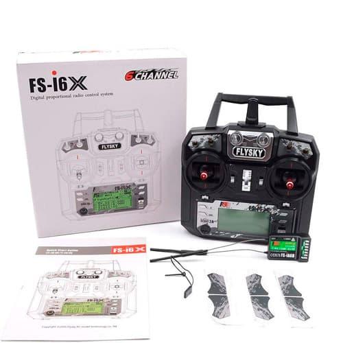 transmisor radiocontrol flysky fs i6x