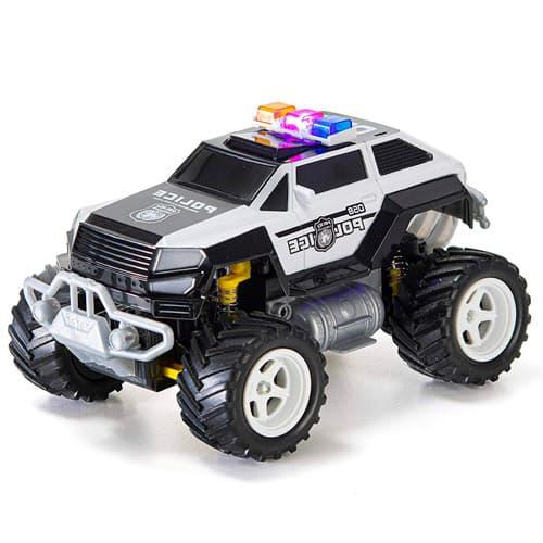 coche policia todoterreno teledirigido