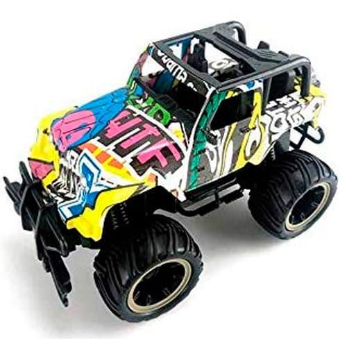 coche teledirigido rc grafiti