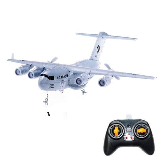 avion rc c17 transporte