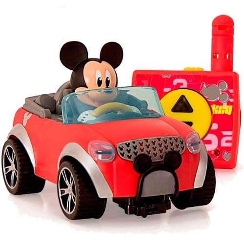 coche teledirigido mickey